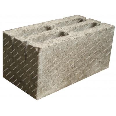 Блоки керамзитобетонные 390х190х188 (4-х пустотные)
