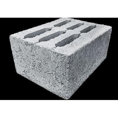 Блоки керамзитобетонные 390х290х188 (6-ти пустотные) М75/F50