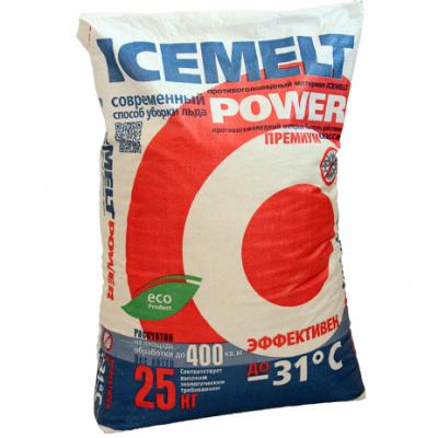Противогололедный реагент ICEMELT POWER -31°С (25 кг)