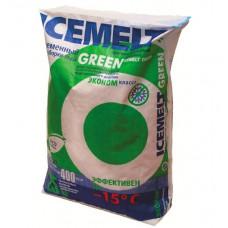 Противогололедный реагент ICEMELT GREEN -15°С (25 кг)