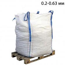 Пескоструйный песок дробленый фр. 0,2-0,63 в МКР (1т)