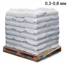 Пескоструйный песок фр. 0,3-0,8 в мешках (25кг) из Воронежской области