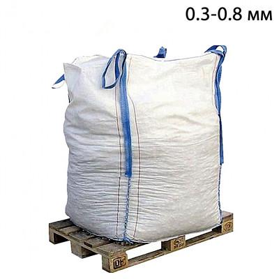 Пескоструйный песок фр. 0,3-0,8 в МКР (1т) из Воронежской области
