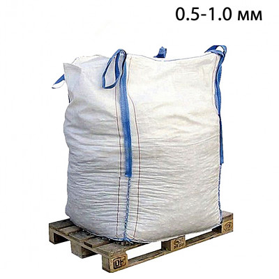 Пескоструйный песок фр. 0,5-1,0 в МКР (1т) из Рязанской области
