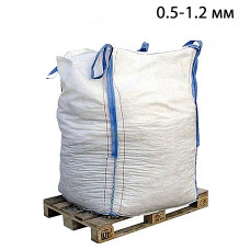 Пескоструйный песок дробленый фр. 0,5-1,2 в МКР (1т)