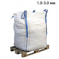 Пескоструйный песок дробленый фр. 1,0-3,0 в МКР (1т)
