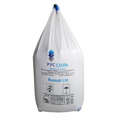 Соль техническая (концентрат минеральный галит Тип Д) в мешках по 1000 кг