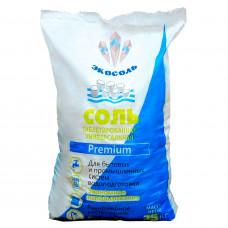 Соль таблетированная универсальная Экосоль (меш. 25 кг) для фильтров умягчения воды