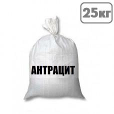 Уголь АК, АКО 25-150 (антрацит) меш. 25 кг