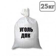 Уголь каменный ДПК 50-200 длиннопламенный (топочный) мешок 25 кг